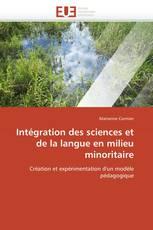 Intégration des sciences et de la langue en milieu minoritaire