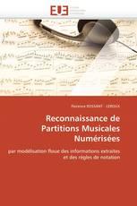 Reconnaissance de Partitions Musicales Numérisées