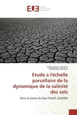 Etude a l'échelle parcellaire de la dynamique de la salinité des sols