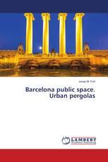 Barcelona public space. Urban pergolas