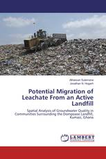 Potential Migration of Leachate From an Active Landfill