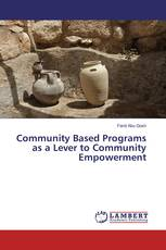 Community Based Programs as a Lever to Community Empowerment