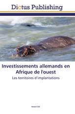Investissements allemands en Afrique de l'ouest