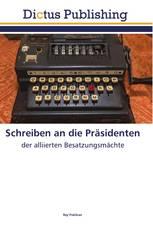 Schreiben an die Präsidenten