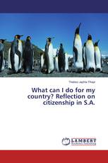 What can I do for my country? Reflection on citizenship in S.A.