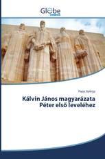 Kálvin János magyarázata Péter első leveléhez
