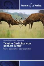 """""""Kleine Gedichte von großen Jungs"""""""