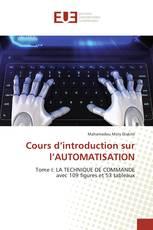 Cours d'introduction sur l'AUTOMATISATION