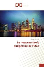 Le nouveau droit budgétaire de l'Etat