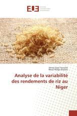 Analyse de la variabilité des rendements de riz au Niger