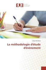 La méthodologie d'étude d'évènement