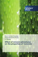 Effect of mineral admixtures on the properties of Concrete