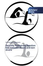 Quantify Pulmonary function test between divers and non divers