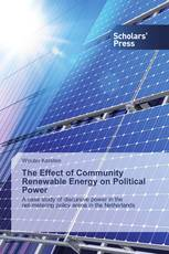 The Effect of Community Renewable Energy on Political Power