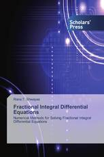 Fractional Integral Differential Equations