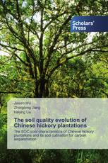 The soil quality evolution of Chinese hickory plantations