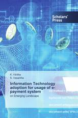 Information Technology adoption for usage of e-payment system