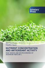 NUTRIENT CONCENTRATION AND ANTIOXIDANT ACTIVITY