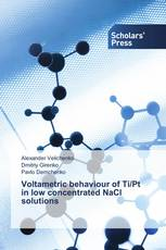 Voltametric behaviour of Ti/Pt in low concentrated NaCl solutions