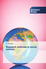 Research methods in social science