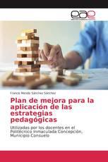 Plan de mejora para la aplicación de las estrategias pedagógicas