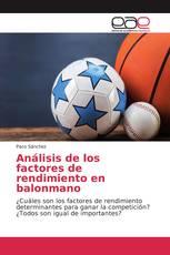 Análisis de los factores de rendimiento en balonmano