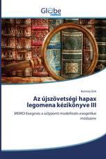 Az újszövetségi hapax legomena kézikönyve III