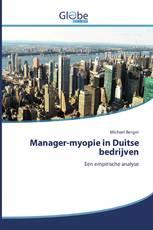 Manager-myopie in Duitse bedrijven