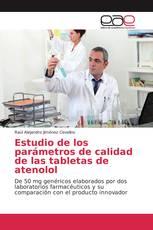 Estudio de los parámetros de calidad de las tabletas de atenolol