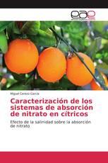 Caracterización de los sistemas de absorción de nitrato en cítricos