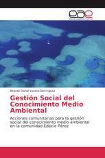 Gestión Social del Conocimiento Medio Ambiental