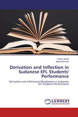 Derivation and Inflection in Sudanese EFL Students' Perfomance