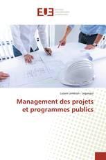 Management des projets et programmes publics