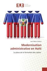 Modernisation administrative en Haïti