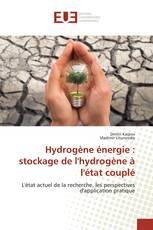 Hydrogène énergie : stockage de l'hydrogène à l'état couplé