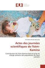 Actes des journées scientifiques de l'Istm-Kamina