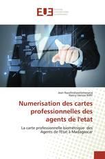 Numerisation des cartes professionnelles des agents de l'etat
