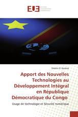 Apport des Nouvelles Technologies au Développement Intégral en République Démocratique du Congo