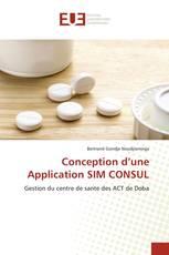 Conception d'une Application SIM CONSUL