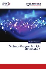Önlisans Programları İçin Matematik 1