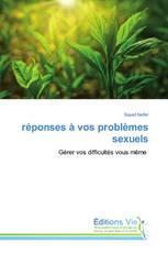 réponses à vos problèmes sexuels