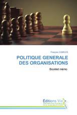 POLITIQUE GENERALE DES ORGANISATIONS