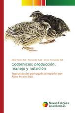 Codornices: producción, manejo y nutrición