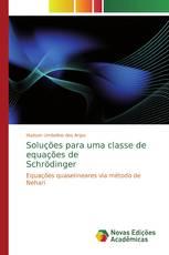 Soluções para uma classe de equações de Schrödinger