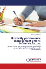 University performance management and its influence factors