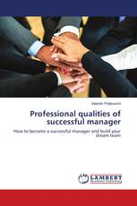Professional qualities of successful manager