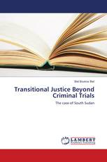 Transitional Justice Beyond Criminal Trials