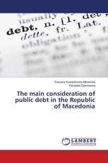 The main consideration of public debt in the Republic of Macedonia