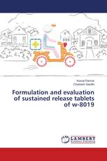Formulation and evaluation of sustained release tablets of w-8019