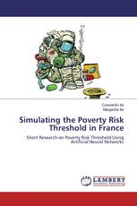 Simulating the Poverty Risk Threshold in France